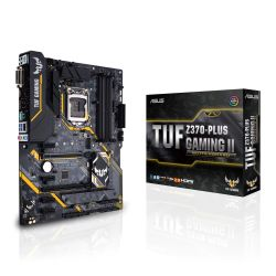 Asus TUF Z370-PLUS GAMING II, Intel Z370, 1151, ATX, 4 DDR4, XFire, DVI, HDMI, RGB Lighting
