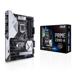 Asus PRIME Z390-A, Intel Z390, 1151, ATX, 4 DDR4, SLI/XFire, HDMI, DP, RGB Lighting