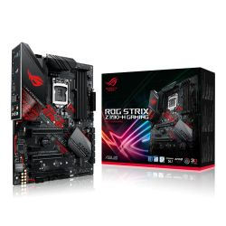 Asus ROG STRIX Z390-H GAMING, Intel Z390, 1151, ATX, 4 DDR4, XFire/SLI, HDMI, DP, RGB Lighting, M.2