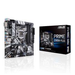 Asus PRIME Z390M-PLUS, Intel Z390, 1151, Micro ATX, XFire, DVI, HDMI, M.2