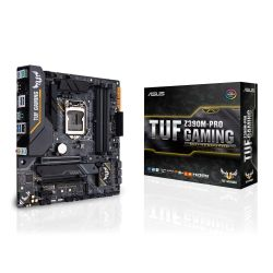 Asus TUF Z390M-PRO GAMING, Intel Z390, 1151, Micro ATX, XFire/SLI, HDMI, DP, RGB Lighting