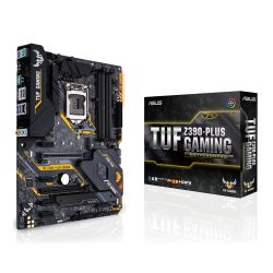 Asus TUF Z390-PLUS GAMING, Intel Z390, 1151, ATX, XFire, HDMI, DP, RGB Lighting