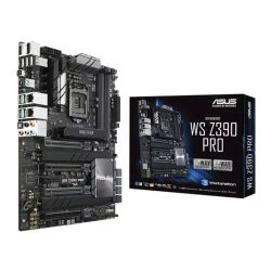 Asus WS Z390 PRO, Workstation, Intel Z390, 1151, ATX, HDMI, DP, Dual LAN, AI Overclocking, Quad-GPU Support, M.2