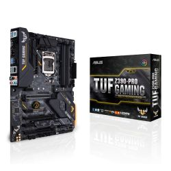 Asus TUF Z390-PRO GAMING, Intel Z390, 1151, ATX, XFire/SLI, HDMI, DP, RGB Lighting