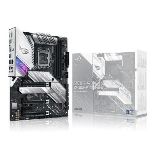 Asus ROG STRIX Z490-A GAMING, Intel Z490, 1200, ATX, 4 DDR4, XFire, HDMI, DP, 2.5G LAN, M.2