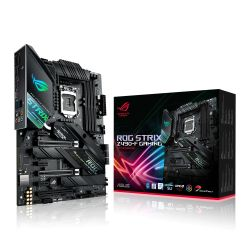 Asus ROG STRIX Z490-F GAMING, Intel Z490, 1200, ATX, 4 DDR4, XFire/SLI, HDMI, DP, 2.5G LAN,  RGB Lighting, M.2