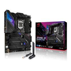 Asus ROG STRIX Z590-E GAMING WIFI, Intel Z590, 1200, ATX, 4 DDR4, SLI, HDMI, DP, AX Wi-Fi, 2x 2.5G LAN, RGB, 4x M.2