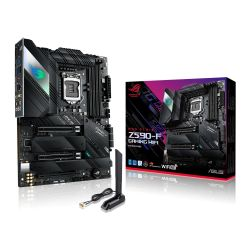 Asus ROG STRIX Z590-F GAMING WIFI, Intel Z590, 1200, ATX, 4 DDR4, HDMI, DP, AX Wi-Fi, 2.5G LAN, RGB, 4x M.2