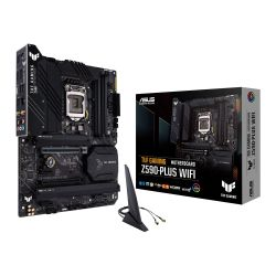 Asus TUF GAMING Z590-PLUS WIFI, Intel Z590, 1200, ATX, 4 DDR4, HDMI, DP, AX Wi-Fi, 2.5G LAN, RGB, 3x M.2