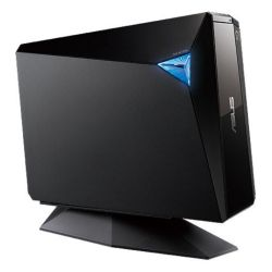 Asus BW-12D1S-U External Blu-Ray Writer, USB 3.0, 12x, Latest 3D Support, Cyberlink Power2Go 8