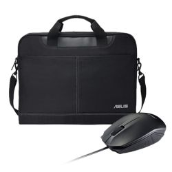 Asus NEREUS Carry Case & UT280 Mouse Soft Bundle - 16 Case with 1000 DPI Optical Mouse