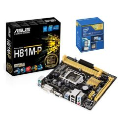 *SOFT BUNDLE* Asus H81M-P Motherboard & Intel Core i3-4170 3.7GHz Processor