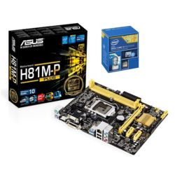*SOFT BUNDLE* Asus H81M-P PLUS Motherboard & Intel Core i3-4170 3.7GHz Processor
