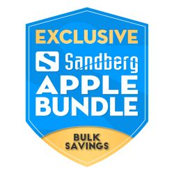 Sandberg Apple Bundle, 5 Year Warranty