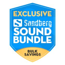 Sandberg Sound Bundle, Metal Stand Included, 5 Year warranty