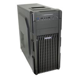 Antec GX-200 Gaming Case, ATX, No PSU, USB 3.0, Tool-less,  Black