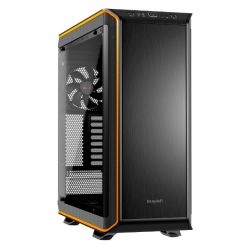 Be Quiet! Dark Base Pro 900 Gaming Case, E-ATX, No PSU, Tool-less, 3 x SilentWings 3 Fans, LEDs, Wireless Charger, Black & Orange