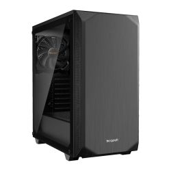 Be Quiet! Pure Base 500 Gaming Case with Window, ATX, No PSU, 2 x Pure Wings 2 Fans, PSU Shroud, Black