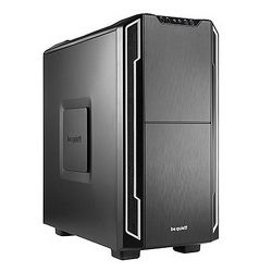 Be Quiet! Silent Base 600 Gaming Case, ATX, No PSU, Tool-less, 2 x Pure Wings 2 Fans, Silver Trim