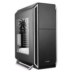 Be Quiet! Silent Base 800 Gaming Case with Window, ATX, No PSU, Tool-less, 3 x Pure Wings 2 Fans, Silver