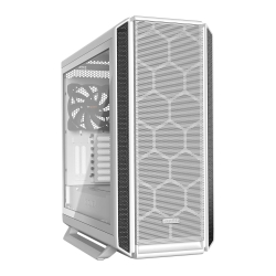 Be Quiet! Silent Base 802 Gaming Case with Tempered Glass Window, E-ATX, No PSU, 3 x Pure Wings 2 Fans, PSU Shroud, White