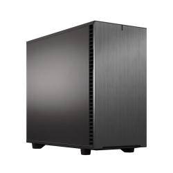 Fractal Design Define 7 (Grey Solid) Gaming Case, E-ATX, Multibracket, 3 Fans, Fan Hub, Silence-optimized, USB-C