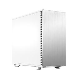 Fractal Design Define 7 (White Solid) Gaming Case, E-ATX, Multibracket, 3 Fans, Fan Hub, Silence-optimized, USB-C