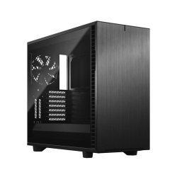 Fractal Design Define 7 (Dark TG) Gaming Case w/ Dark Tint Glass Window, E-ATX, Multibracket, 3 Fans, Fan Hub, Silence-optimized, USB-C