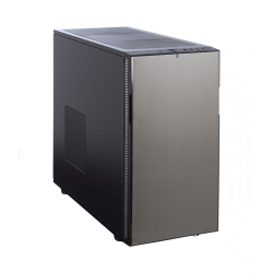 Fractal Design Define R5 (Titanium Grey Solid) Silent Gaming Case, ATX, 2 Fans, Fan Controller, Configurable Front Door, Ultra Silent Design