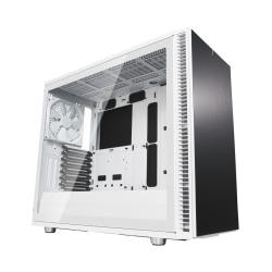 Fractal Design Define S2 (White) Gaming Case w/ Clear Glass Window, E-ATX, Sound Dampening, PSU Shroud, Optional Top Filter, 3 Fans, USB-C