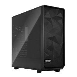 Fractal Design Meshify 2 XL (Light TG) Gaming Case w/ Light Tint Glass Window, E-ATX/SSI-EEB, Angular Mesh Front, 3 Fans, Fan Hub, Detach. Front Filter, USB-C