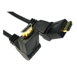Spire HDMI 1.8 Cable, 1.8 Metres, High Speed, Gold Plated Connectors, Swivel Ends