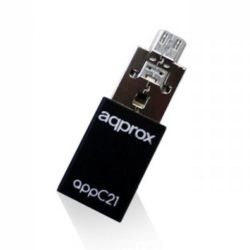 Approx APPC21 Micro SD Adapter to USB and Micro USB, OTG