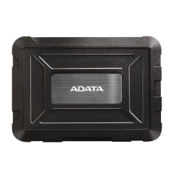 ADATA ED600 2.5 SATA Hard Drive Caddy, USB 3.1, USB Powered, IP54 Water, Dust & Shock Proof