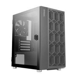 Antec NX200M Mini Tower Gaming Case w/ Glass Window, Micro ATX, Mesh Front, 1 Fan, 240mm Radiator Support