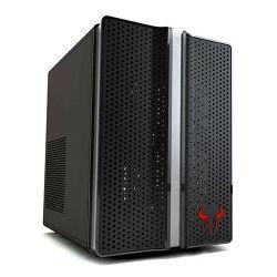 Riotoro CR1088 Mini Gaming Case, ATX, No PSU, 12cm Fan, RGB Lighting, Full-size ATX MB, GPU and PSU support
