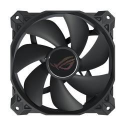 Asus ROG STRIX XF120 12cm PWM Case/Radiator Fan, Whisper-quiet, MagLev Bearing, Polychromatic ROG Logo, 1800 RPM, 5 Year Warranty