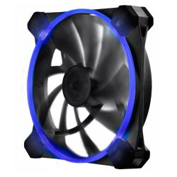 Antec TrueQuiet UFO 12cm Case Fan, Dual Speed, Silicone Grommets, Tool-less, Blue LED