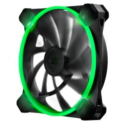 Antec TrueQuiet UFO 12cm Case Fan, Dual Speed, Silicone Grommets, Tool-less, Green LED