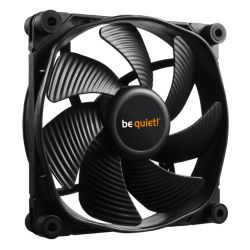 Be Quiet BL070 Silent Wings 3 PWM High Speed Case Fan, 12cm, Black, Fluid Dynamic