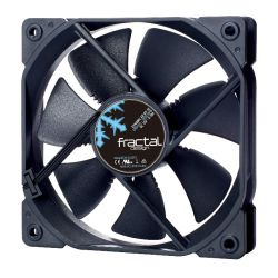 Fractal Design Dynamic X2 GP-12 12cm Case Fan, Long Life Sleeve Bearing, Counter-balanced Magnet, 1200 RPM, Black