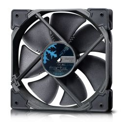 Fractal Design Venturi HP-12 PWM 12cm Case Fan, Fluid-Dynamic Bearing, Counter-balanced Magnet, 400-1800 RPM, Black