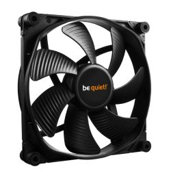 Be Quiet! (BL065) Silent Wings 3 14cm Case Fan, Black, Fluid Dynamic Bearing