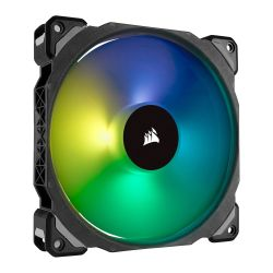 Corsair ML140 Pro 14cm PWM RGB Case Fan, Magnetic Levitation Bearing