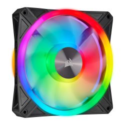 Corsair iCUE QL140 14cm PWM RGB Case Fan, 34 ARGB LEDs, Hydraulic Bearing, Single Fan Expansion Pack