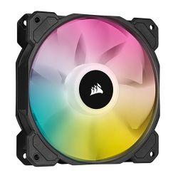 Corsair iCUE SP140 ELITE Performance 14cm PWM RGB Case Fan, 8 ARGB LEDs, Hydraulic Bearing, Single Fan Expansion Pack
