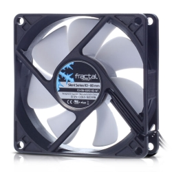 Fractal Design Silent Series R3 8cm Case Fan, 7 Blades, Rifle Bearing, 1600 RPM