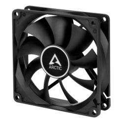 Arctic F9 Silent 9.2cm Case Fan, Black, 9 Blades, Fluid Dynamic, 6 Year Warranty