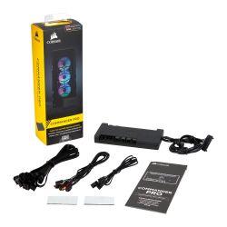 Corsair Commander PRO Digital Fan & RGB Lighting Controller, Supports up to 6 Fans, 4 Temp. Sensors, 8 RGB Strips