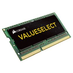 Corsair Value Select 4GB, DDR3L, 1333MHz PC3-10600, CL9, SODIMM Memory